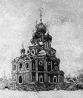 Храм Воскресения Христова на Смоленском кладбище